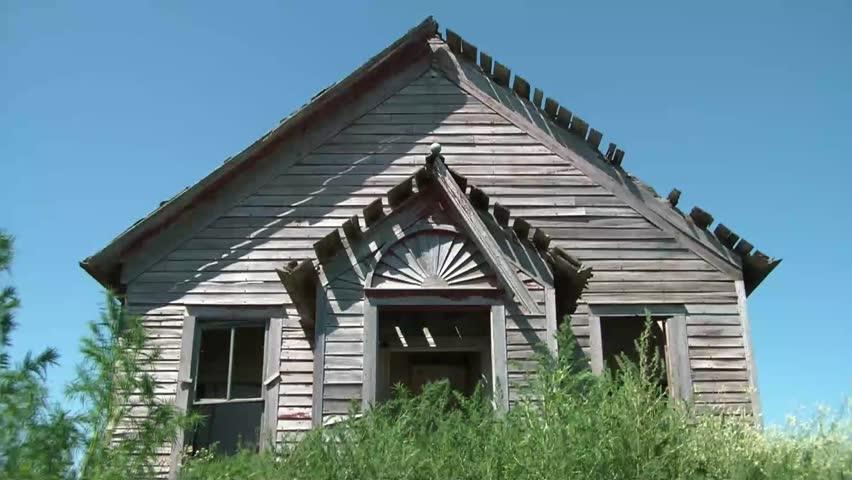 One room farmhouse Footage | Stock Clips