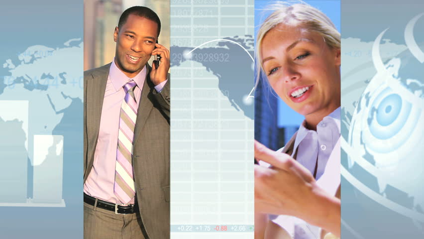 Montage image of global city business scenes CG graphics display, modern technology | Shutterstock HD Video #3325040