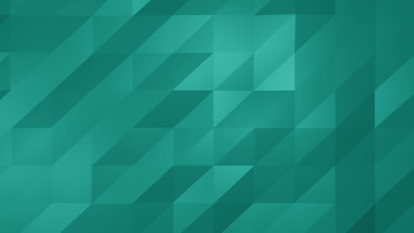 Low Poly Aqua Blue Green Stock Footage Video 100 Royalty Free 33310813 Shutterstock