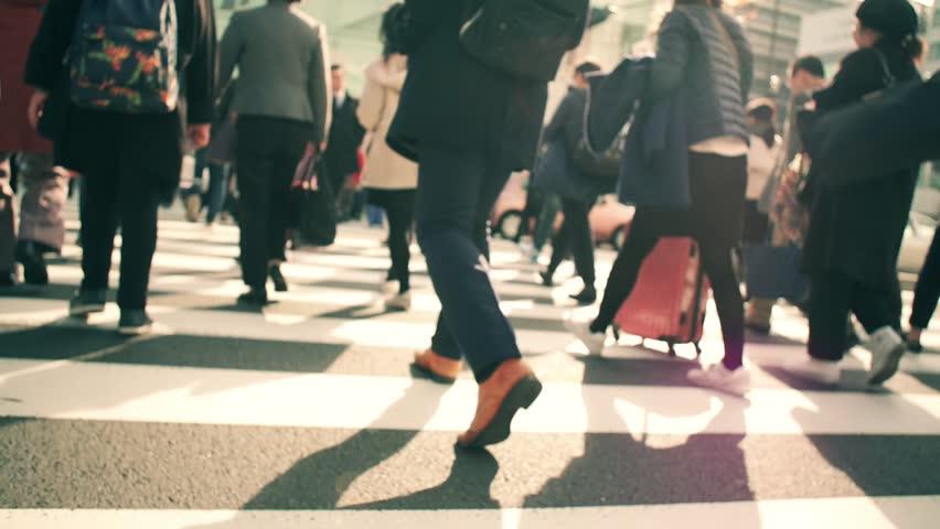 Walk cross road | Shutterstock HD Video #33363373