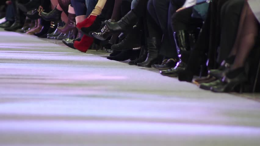 fashion show at catwalk