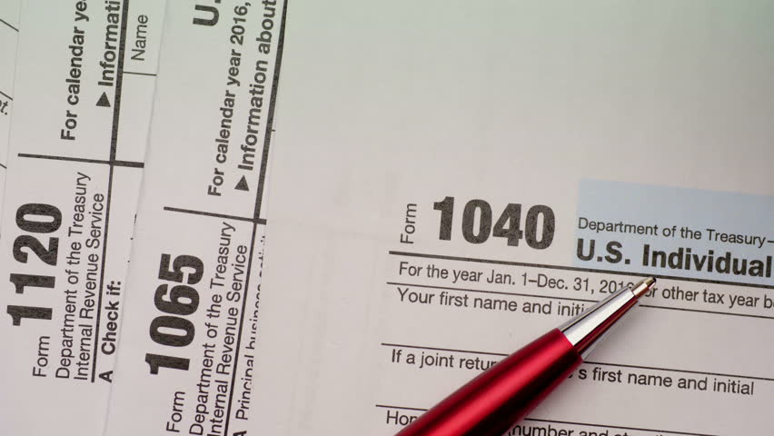 form 1065 and 1040  Tax Form 13, 13, 13 Stock Footage Video (13% Royalty-free) 13  | Shutterstock