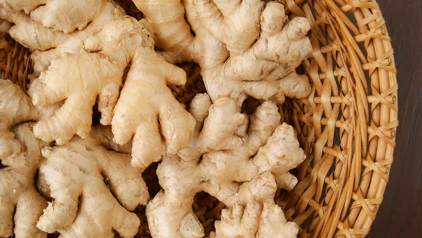 Ginger Roots in the Basket. Stock Footage Video (100% Royalty-free) 33571663 Shutterstock