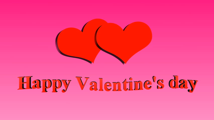 Happy Valentine\'s Day -all You Need Is Love Stock Footage Video ...