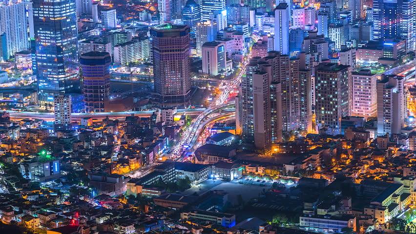 4K Cityscapes of South Korea