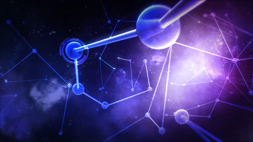 Futuristic Node Network | Shutterstock HD Video #3377933