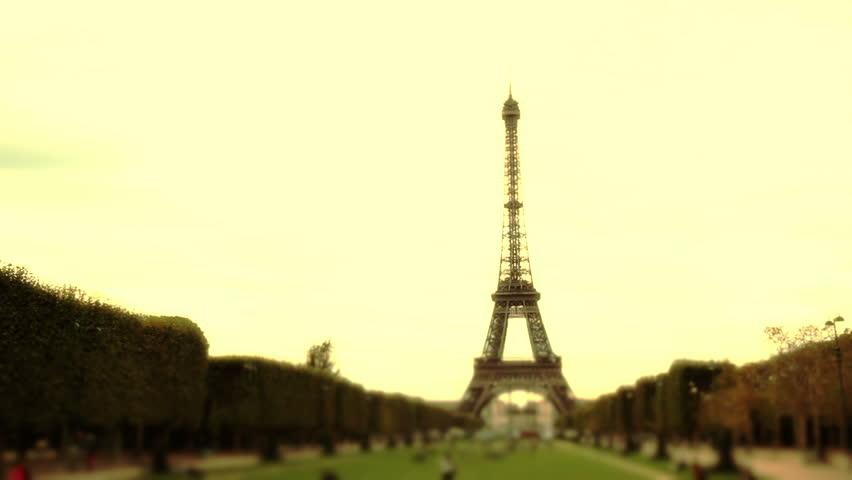 Tour Eiffel in Paris | Shutterstock HD Video #3393233