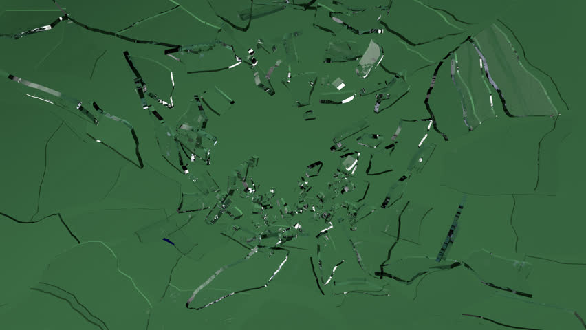 Glass Shatter , Broken glass: with slow motion. Alpha and green screen is included ...