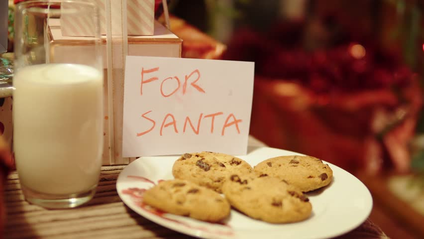 Santa Claus Visits Home Christmas Stock Footage Video 100 Royalty Free 33948163 Shutterstock