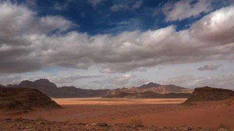 Desert of Wadi Rum