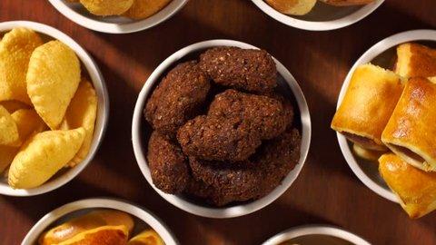 Mixed brazilian snack rotation.