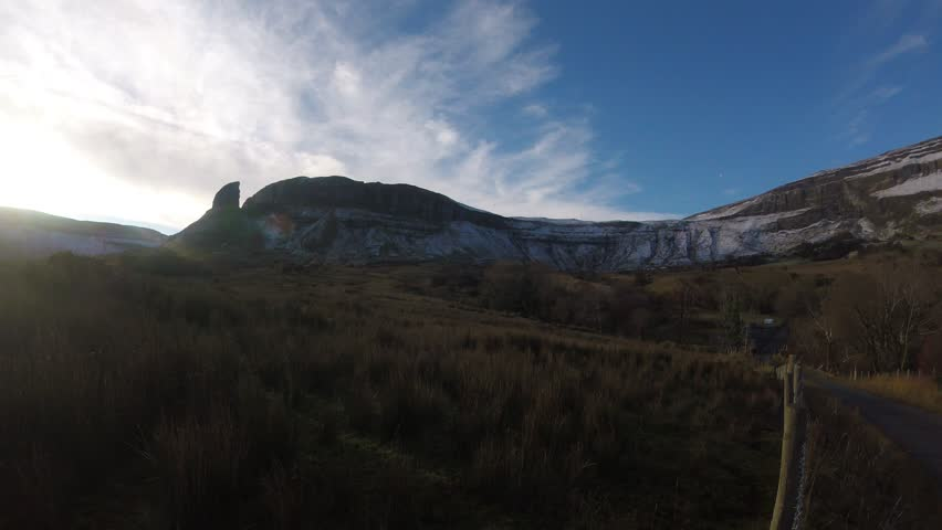 Time lapse at Eagle's Eye Mountain in County Leitrim - Ireland    Shutterstock HD Video #34517203