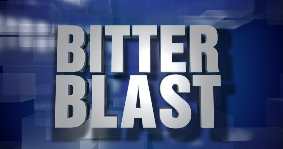 A blue dynamic 3D Bitter Blast transition and title page animation. 5 and 2 second options included with optional luma matte for both.  | Shutterstock HD Video #34555543