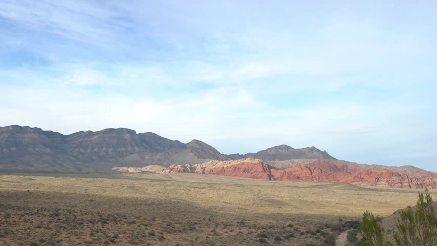 Red Rock Canyon - Erosion on LandformS | Shutterstock HD Video #34654360