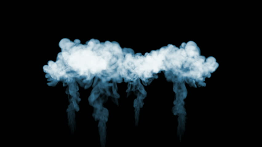 Smoke streams in slow motion. A lot of smoke flows Isolated on black background with backlit and ready for compositing for visual effects. For transparency use mode screen. V6 | Shutterstock HD Video #34712623