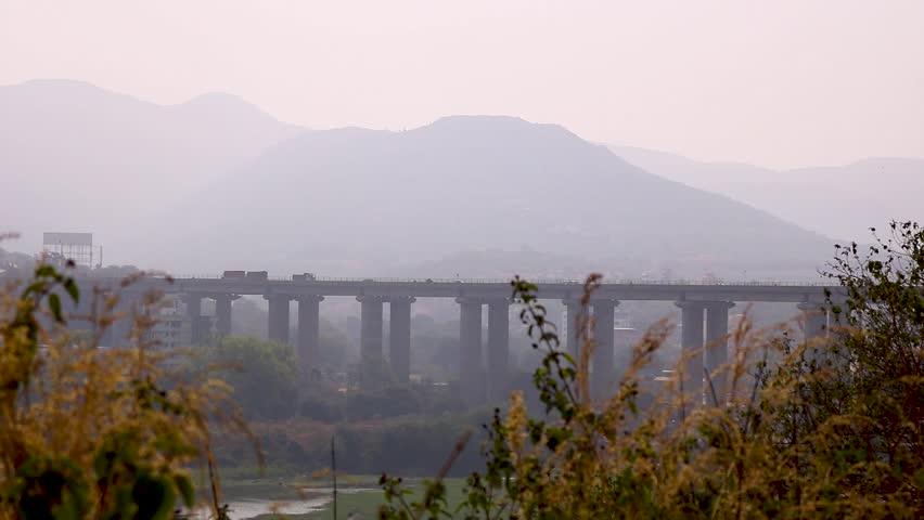 Mumbai Pune Bangalore Highway Tallest Bridge In India