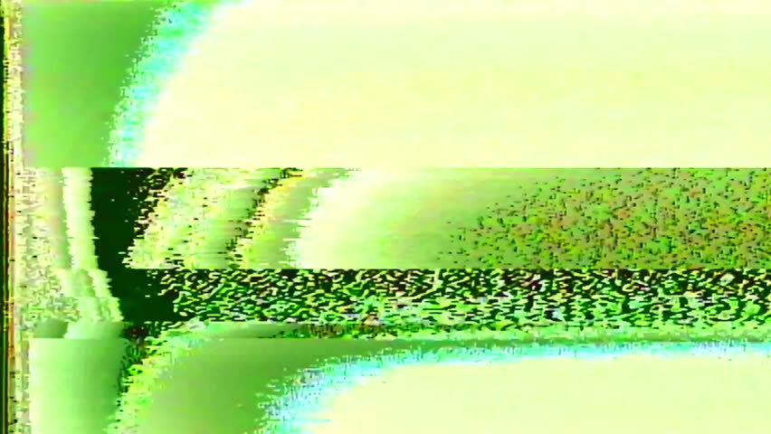 Analog Abstract Video Signal Noise FeedBack Manipulation | Shutterstock HD Video #34792693