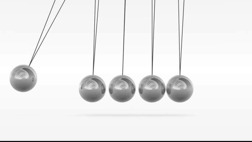 Ball metal swinging