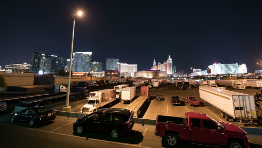 Las Vegas Strip Skyline Time Lapse Hotel and Casino | Shutterstock HD Video #34912651