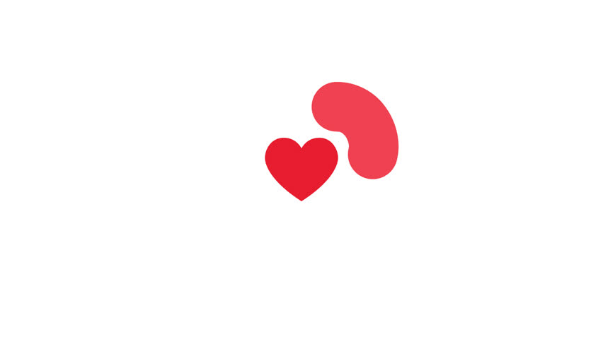 2d animation red heart. Seamless loop animation  | Shutterstock HD Video #34921423