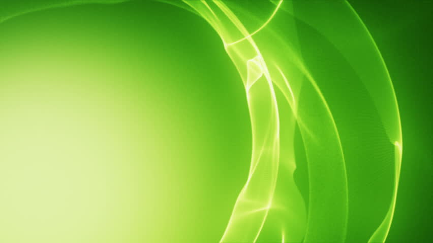 Digital Animation Of White Lines On Green Background Stock
