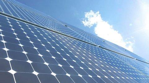 Solar panel time lapse