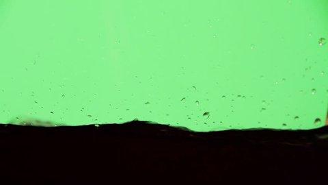 Water filling up - Greenscreen Tank