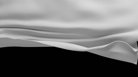 white textile cloth falling down. closing curtain background.