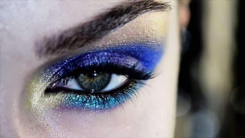 Beauty Human eye close up macro   Shutterstock HD Video #3662465