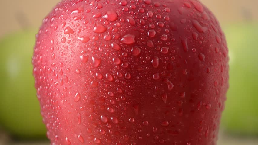 1 Red Apple, 2 Green Apples - Crane Down