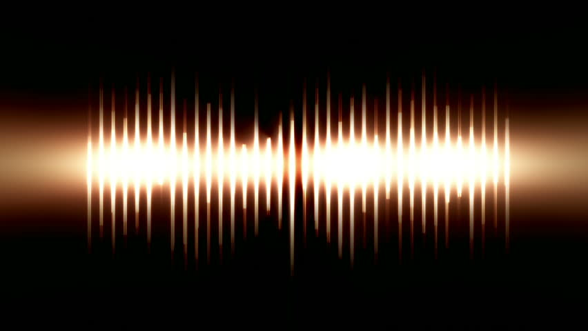 Dynamic Light Waves, Bright lines of light reacting to sound like a sound spectrum analyzer