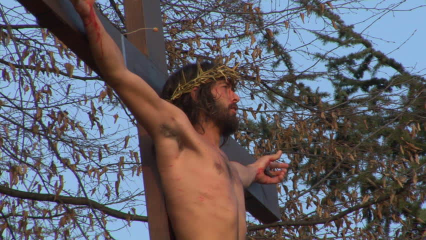 ROMAGNANO SESIA, ITALY - march 31: Via Crucis (Way of the Cross). Representation