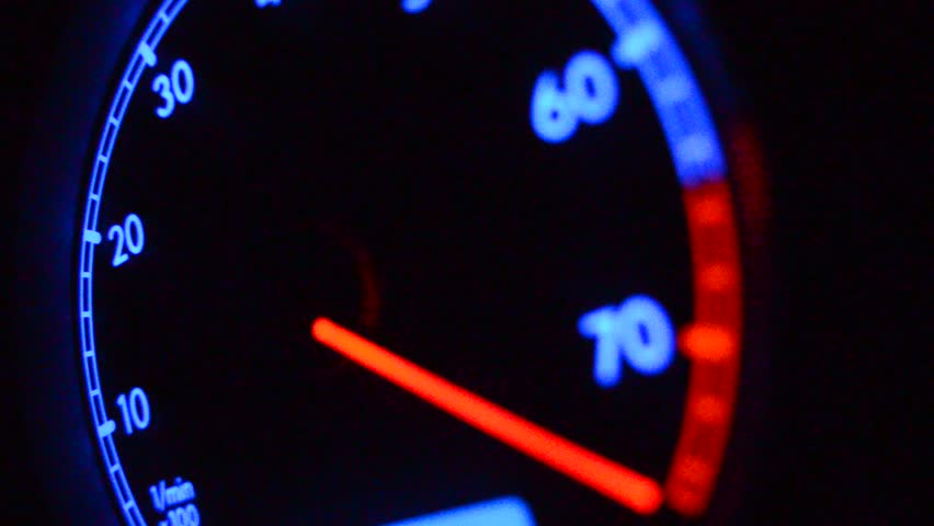 Tachometer close up | Shutterstock HD Video #3787238