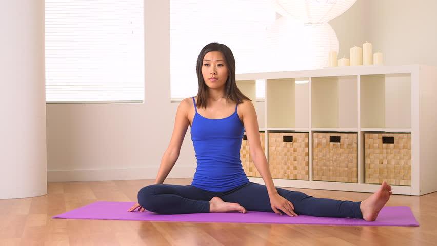 Hot Naked Women Doing Yoga