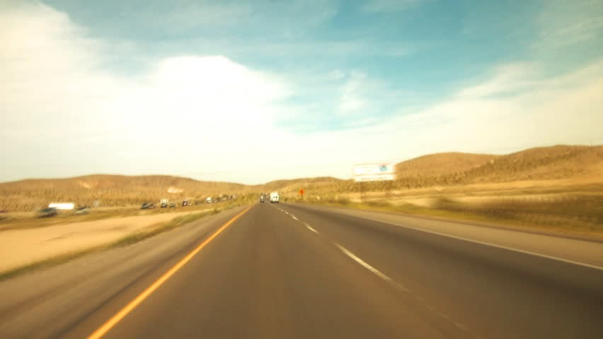High Speed Driving on Highway | Shutterstock HD Video #3818873