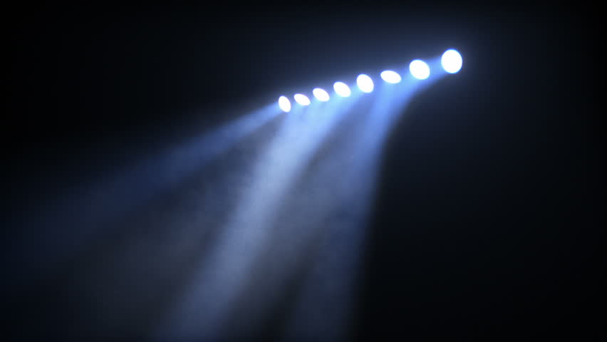 Bright stage lights flashing. Amber-Blue. SEE MORE COLOR OPTIONS IN MY PORTFOLIO. | Shutterstock Video #3823802