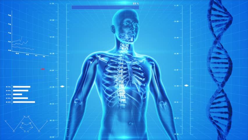 Analysis Of Human Body Skin Stock Footage Video 100 Royalty Free