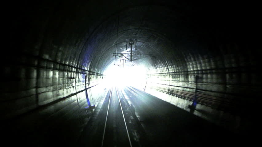 Coming out of the dark - Train engineer's perspective while exiting the longest rail tunnel in the World - the Seikan Tunnel which extends 33.5 miles under the Tsugara Strait.