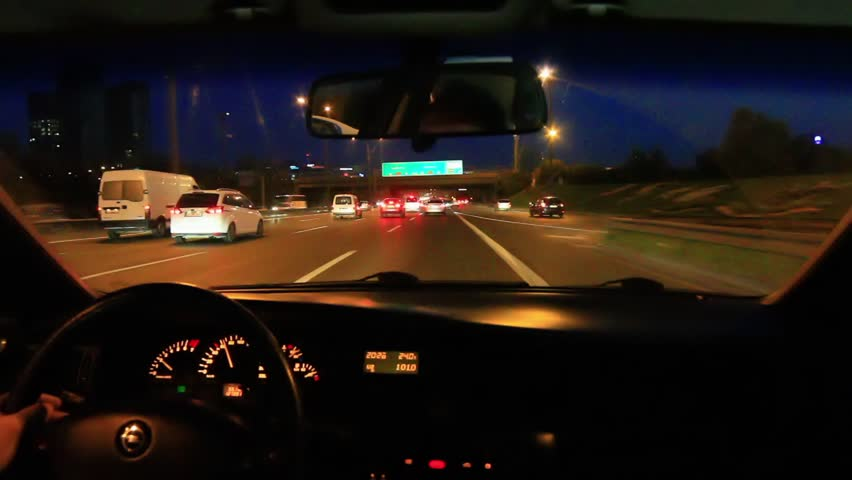 Car Dashboard Night View Stock Video Footage 4k And Hd Clips Shutterstock