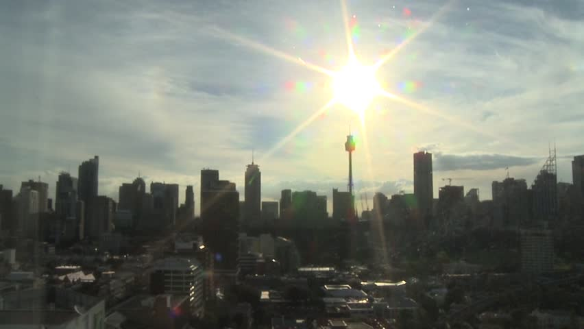 A New Day, Sunrise over Sydney, Cityscape Time Lapse #3840038