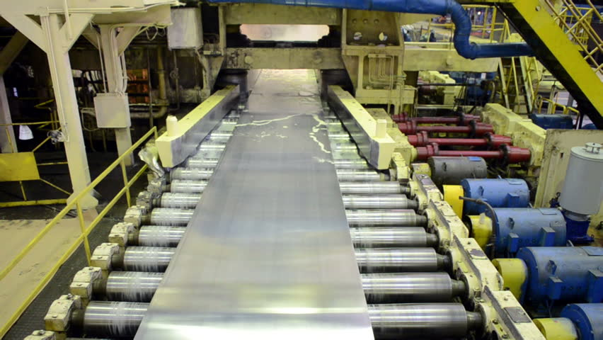 Machine, the production of metall, aluminum