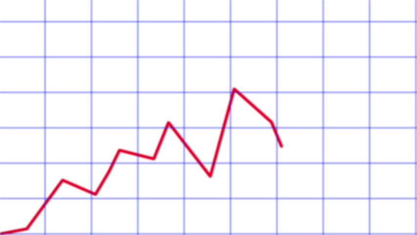 Line chart ascending.