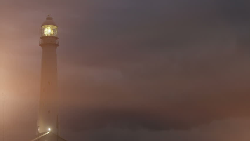 Lighthouse At Night Stock Footage Video | Shutterstock