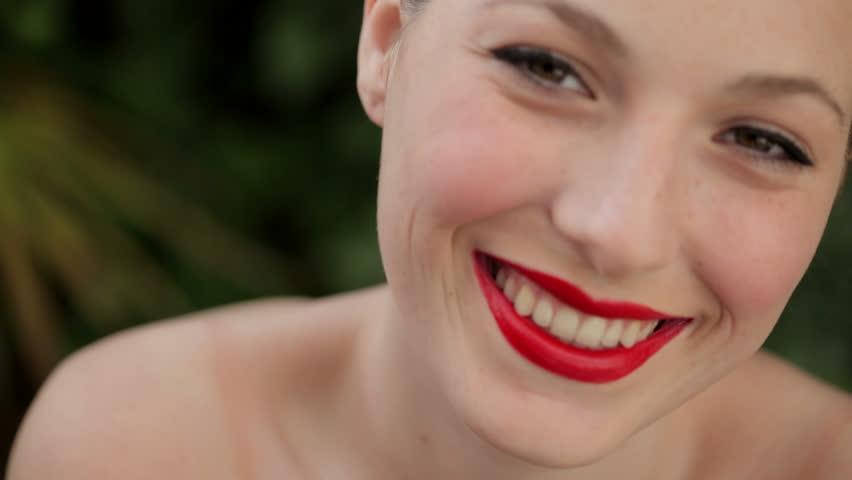 Red Lipstick Stock Footage Video | Shutterstock