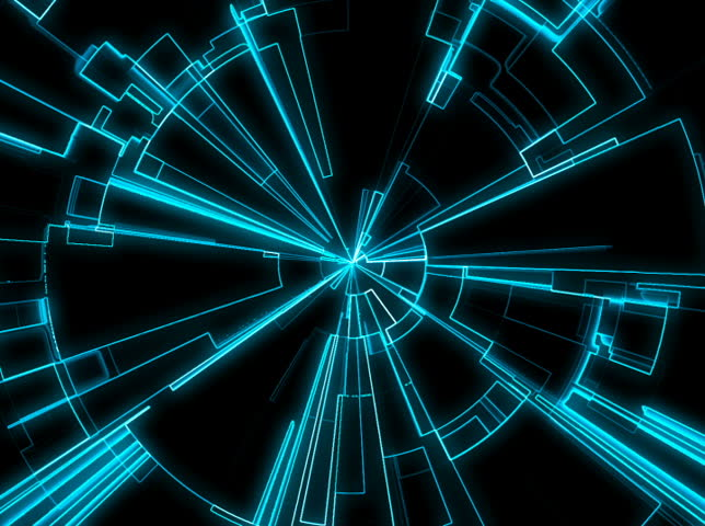Stock Video Of Abstract Tron Grid Loop 3893633