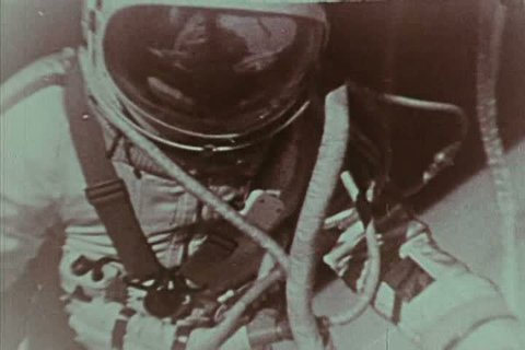 1970s - The Soviet Union performs the first spacewalk.