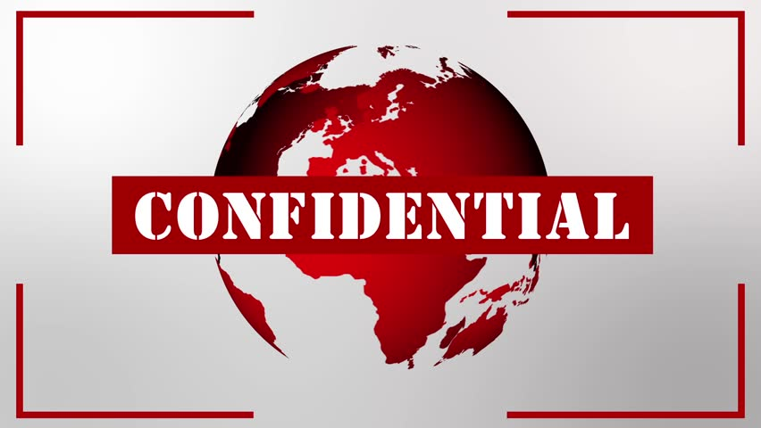 Confidential screen