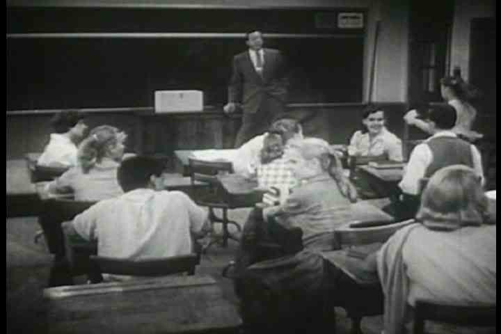 1950s - A psychology professor teaches us about emotions.