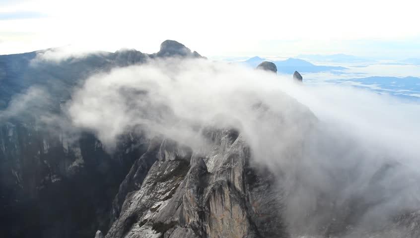 Kinabalu Mountain in Sabah Nation Park  at Kota Kinabalu  Malaysia | Shutterstock HD Video #3923603