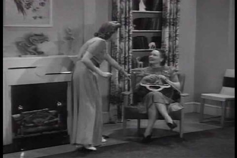 1940s - A housewife demonstrates all the miracles of chemistry in her life.